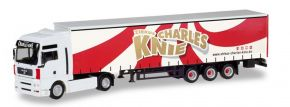 herpa 310154 MAN TGA XXL Gardinenplanensattelzug Zirkus Charles Knie LKW-Modell 1:87 kaufen