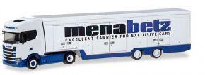 herpa 310390 Scania CS20 HD Koffersattelzug Menabetz LKW-Modell 1:87 kaufen
