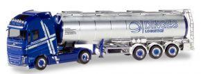 herpa 310543 Volvo FH GL XL Tanksattelzug Ingo Dinges LKW-Modell 1:87 kaufen