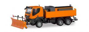 herpa 310727 Iveco Trakker 6x6 Winterdienst LKW-Modell Spur H0 kaufen