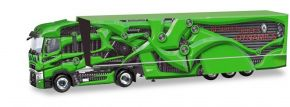 herpa 310796-002 Renault T High Roof Koffersattelzug Tour de Dynamics PR-Truck grün LKW-Modell 1:87 kaufen