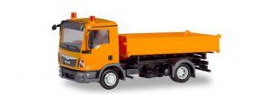 herpa 310994 MAN TGL Dreiseitenkipper kommunalorange LKW-Modell 1:87 kaufen
