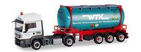 herpa 311021 MAN TGS LX Euro6c Swapcontainersattelzug Wittener Transport Kontor LKW-Modell 1:87 kaufen