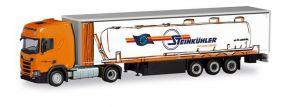 herpa 311144 Scania CR20 HD Gardinenplanensattelzug Steinkühler LKW-Modell 1:87 kaufen