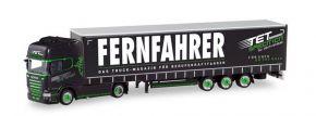 herpa 311229 Scania R TL 2013 Lowlinersattelzug TET Spedition Fernfahrer LKW-Modell 1:87 kaufen