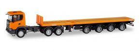 herpa 311403 Scania CG17 XT  Teletrailersattelzug LKW-Modell 1:87 kaufen