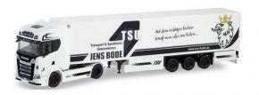 herpa 311601 Scania CS20 HD Kühlkoffersattelzug TSU Bode LKW-Modell 1:87 kaufen
