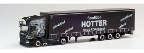 herpa 311717 Scania R 2013 TL Lowlinergardinenplanensattelzug Hotter LKW-Modell 1:87 kaufen