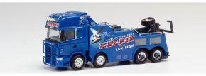 herpa 311847 Scania R 2004 Topline Empl Bison Abschleppfahrzeug Kelpin LKW-Modell 1:87 kaufen