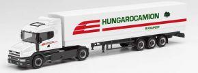 herpa 312080 Scania Hauber Planen-Sattelzug Hungarocamion | LKW-Modell 1:87 kaufen