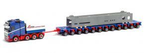 herpa 312158 Volvo FH 16 Gl. Tiefladezug mit Behelfsbrücke | LKW-Modell 1:87 kaufen