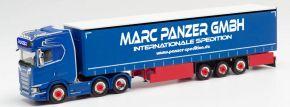 herpa 313247 Scania CS20 HD 6x2 Gardinenplanensattelzug Marc Panzer GmbH Asphalt Cowboys LKW 1:87 kaufen
