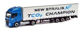 herpa 312271 Iveco Stralis NP 460 Gardinenplanen-Sattelzug | LKW-Modell 1:87 kaufen