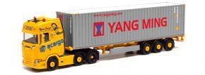 herpa 312318 Scania CS 20 HD 6x2 Container-Sattelzug | LKW-Modell 1:87 kaufen