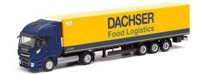 herpa 312455 Iveco Stralis NP Kühlkoffer-Sattelzug Dachser Food Logistic | LKW-Modell 1:87 kaufen
