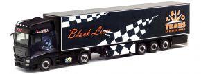 herpa 312462 MAN TGX XXL Kühlkoffer-Sattelzug Trio-Trans Black Lion | LKW-Modell 1:87 kaufen