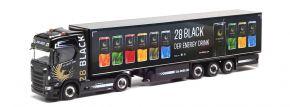 herpa 312509 Scania CS20 HD Kühlkoffersattelzug TSU Bode 28 Black LKW-Modell 1:87 kaufen