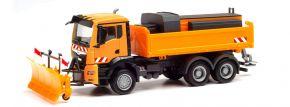herpa 312578 MAN TGS NN Winterdienst-LKW kommunalorange LKW-Modell 1:87 kaufen