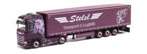 herpa 312653 Scania CS20 HD Gardinenplanensattelzug Stelzl LKW-Modell 1:87 kaufen