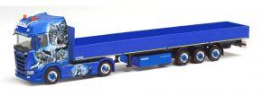 herpa 312745 Scania CS20 HD Pritschensattelzug Waßmer Transporte kaufen