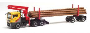 herpa 312998 MAN TGX L Langholztransporter Mengel LKW-Modell 1:87 kaufen