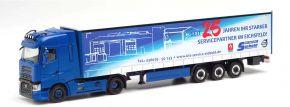 herpa 313148 Renault T Gardinenplanensattelzug Siebold Nutzfahrzeuge Trucker Babe Anne LKW-Modell 1: kaufen