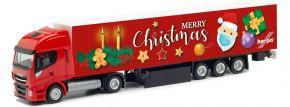 herpa 313216 Iveco Stralis NP Koffer-Sattelzug | 2. Advent 2020 | LKW-Modell 1:87 kaufen