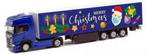 herpa 313223 Scania CR 20 HD Koffer-Sattelzug | 3. Advent 2020 | LKW-Modell 1:87 kaufen