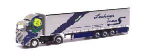 herpa 313551 Scania 143 420 V8 Streamline Gardinenplanensattelzug Lechner Trans Lasa LKW-Modell 1:87 kaufen