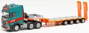 herpa 314220 Scania CR 20 Semitieflade-Sz Gruber | LKW-Modell 1:87 kaufen