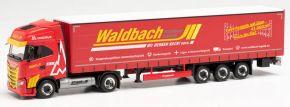 herpa 314411 Iveco S-Way LNG Gardinenplanen-Sz Waldbach Logistik | LKW-Modell 1:87 kaufen