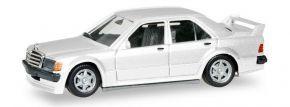 herpa 420310 Mercedes-Benz 190E 2,5 16V weiss Automodell 1:87 kaufen