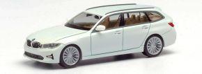 herpa 420839 BMW 3er Touring alpinweiß | Automodell 1:87 kaufen