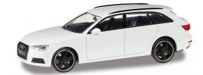 herpa 420884 Audi A4 Avant B9 Black Edition alpinweiss Automodell 1:87 kaufen