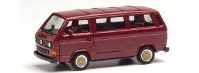 herpa 420914 VW T3 Bus mit BBS-Felgen weinrot Automodell 1:87 kaufen