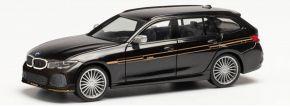 herpa 420983 BMW Alpina B3 Touring brillantschwarz | Modellauto 1:87 kaufen