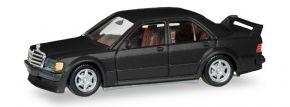 herpa 430654 Mercedes-Benz 190E 2,5 16 schwarzmetallic Automodell 1:87 kaufen