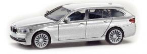 herpa 430708-002 BMW 5er Touring glaciersilber | Automodell 1:87 kaufen