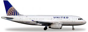 herpa 526883 A319 United Airlines WINGS 1:500 kaufen