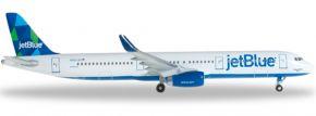 herpa 527811 A321 JetBlue mint colors | WINGS 1:500 kaufen
