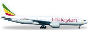 ausverkauft | herpa 528115 B777-200LR Ethiopian Airlines | WINGS 1:500 kaufen