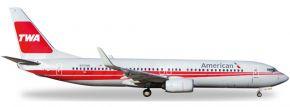 herpa 529259 B737-800 American TWA Heritage   WINGS 1:500 kaufen