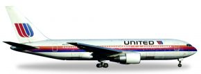 herpa WINGS 530187 Boeing 767-200 United Airlines Rainbow Saul Bass Colors Flugzeugmodell 1:500 kaufen