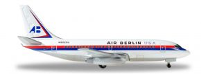 herpa WINGS 530453 Boeing 737-200 Air Berlin USA Flugzeugmodell 1:500 kaufen