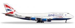 herpa 531924 Boeing 747-400 British Airways One World Flugzeugmodell 1:500 kaufen