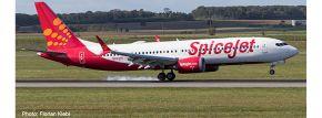 herpa 533638 Boeing 737 MAX 8 Spicejet King Chilli Flugzeugmodell 1:500 kaufen
