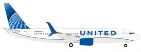herpa 533744 Boeing 737-800 United Airlines new colors 2019 Flugzeugmodell 1:500 kaufen