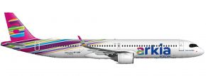 herpa 533928 Arkia Isreali Airlines Airbus A321neo - 4X-AGH - Fuchsia variant | Flugzeugmodell 1:500 kaufen