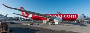herpa 533980 Thai Air Asia X Airbus A330-900neo - HS-XJA | Flugzeugmodell 1:500 kaufen