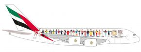 herpa 534352 A380 Emirates Year of Tolerance | Flugzeugmodell 1:500 kaufen